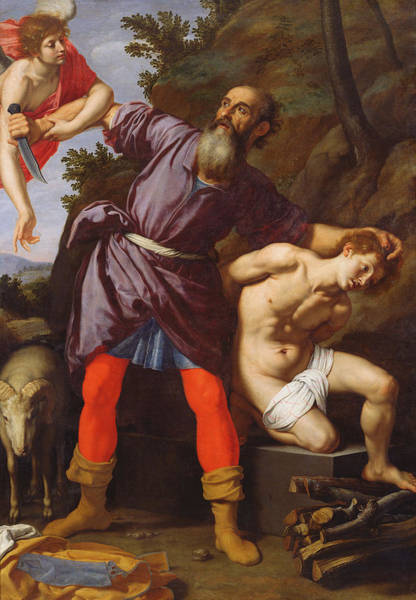 Ram Painting - The Sacrifice Of Abraham by Cristofano Allori