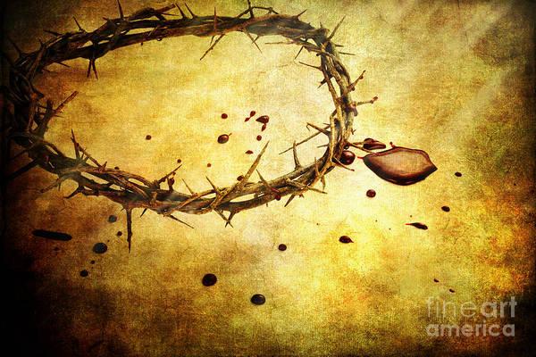 Crucifixion Of Jesus Photograph - The Sacrifice by Stephanie Frey