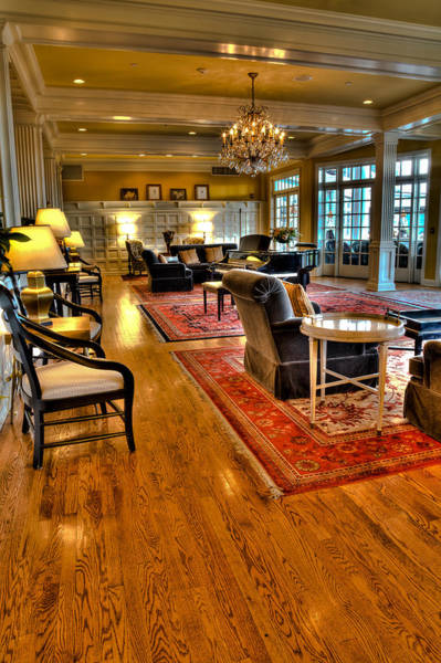 Wall Art - Photograph - The Sagamore Resort Lobby by David Patterson