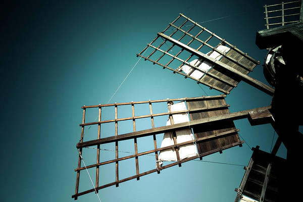 Wall Art - Photograph - The Sails Of A Traditional Windmill by Wladimir Bulgar/science Photo Library