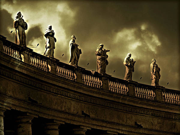 Photograph - The Saints  by Micki Findlay