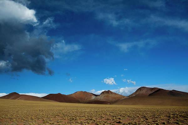 Salar De Atacama Photograph - The Salar De Uyuni Is The Worlds by Michael Hanson