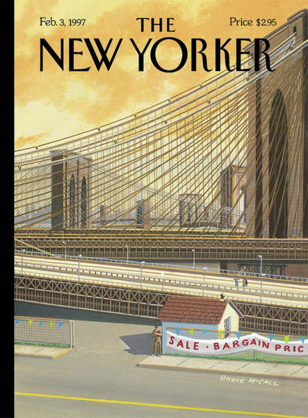 Bridges Painting - The Sale Of The Century by Bruce McCall