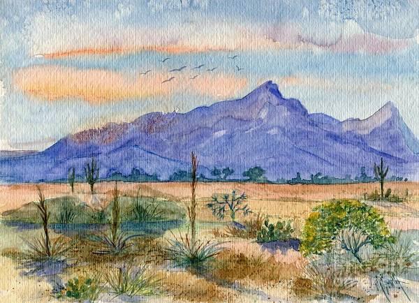 The San Tans Art Print