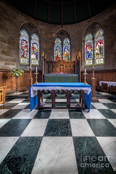 Holy Trinity Photograph - The Sanctuary by Adrian Evans