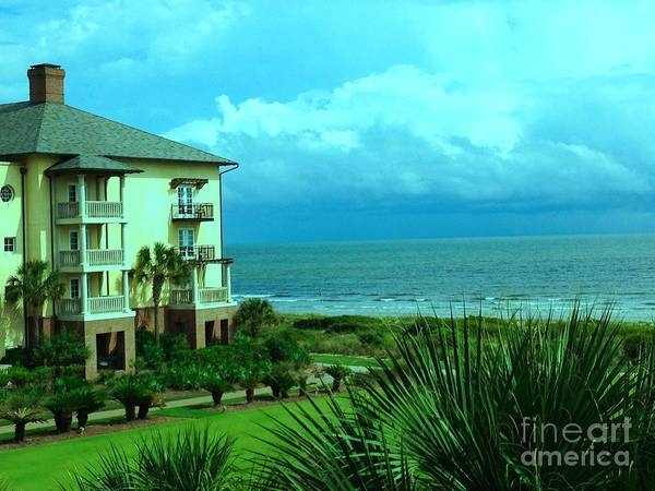 Kiawah Island Photograph - The Sanctuary Hotel Ocean View by Laurie Moore