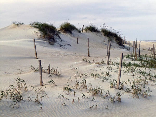 The Sands Of Obx Art Print