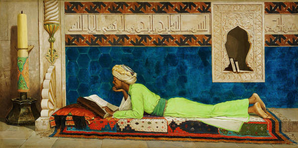 Wall Art - Painting - The Scholar by Celestial Images