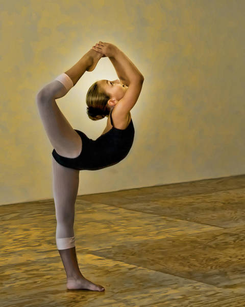 Photograph - Scorpion Ballet Position by Ginger Wakem