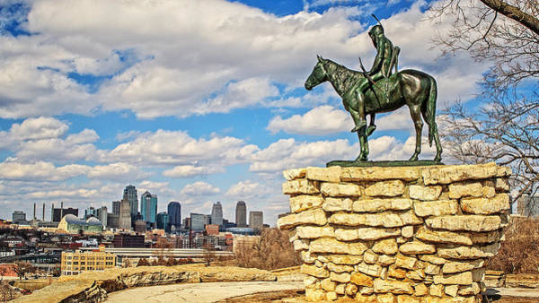 Wall Art - Photograph - The Scout Of Kc by Kevin Anderson