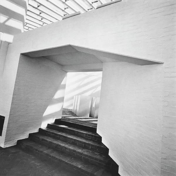 Usa Photograph - The Sculpture Gallery Of Architecture Philip by Horst P. Horst