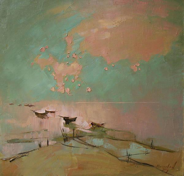 Wall Art - Painting - The Sea Breeze by Anastasija Kraineva
