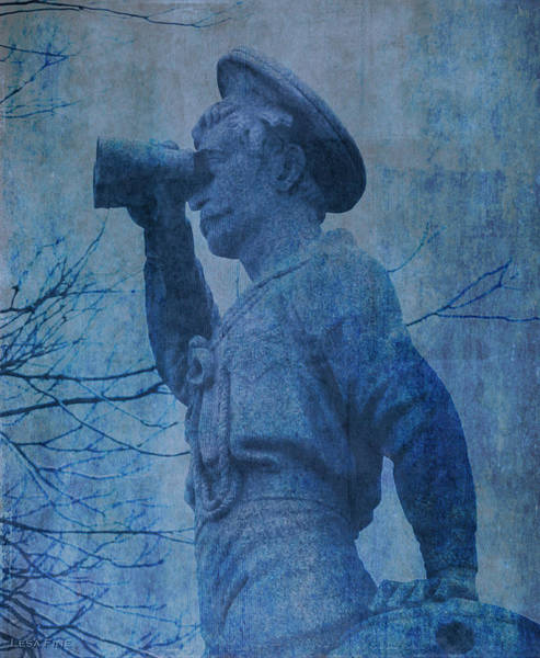 The Seaman In Blue Art Print