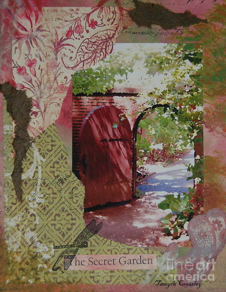Painting - The Secret Garden by Tamyra Crossley