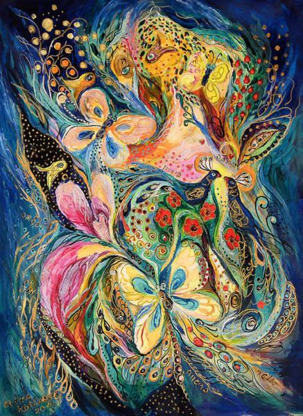 Wall Art - Painting - The Secret Of The Night by Elena Kotliarker