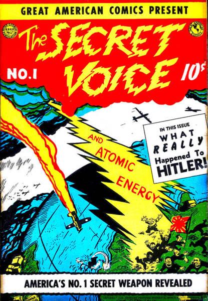 Atomic Weapons Digital Art - The Secret Voice No 1 by Del Gaizo