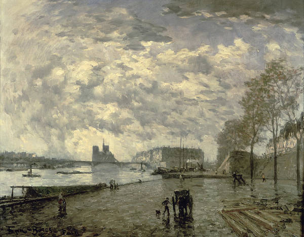 Wall Art - Painting - The Seine And Notre Dame by Frank Myers Boggs