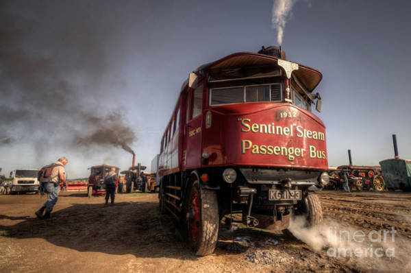 Wall Art - Photograph - The Sentinel Steam Bus by Rob Hawkins