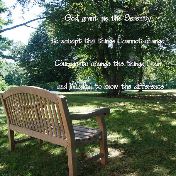 Serenity Prayer Digital Art - The Serenity Prayer by Philip Ralley