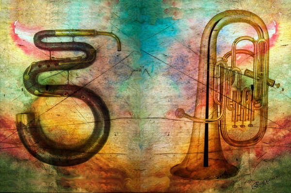 Photograph - The Serpent And Euphonium -  Featured In Spectacular Artworks by Ericamaxine Price