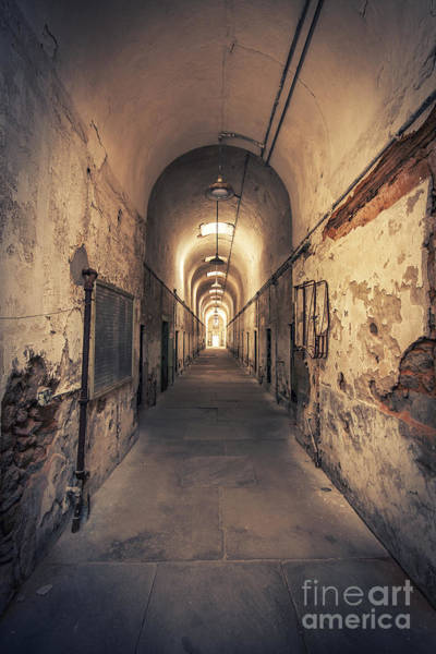 Prison Photograph - The Shadowpath by Evelina Kremsdorf