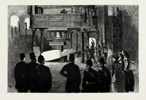 Wall Art - Drawing - The Shah Of Persia In England, Uk, 1889 The Shah Witnessing by Litz Collection