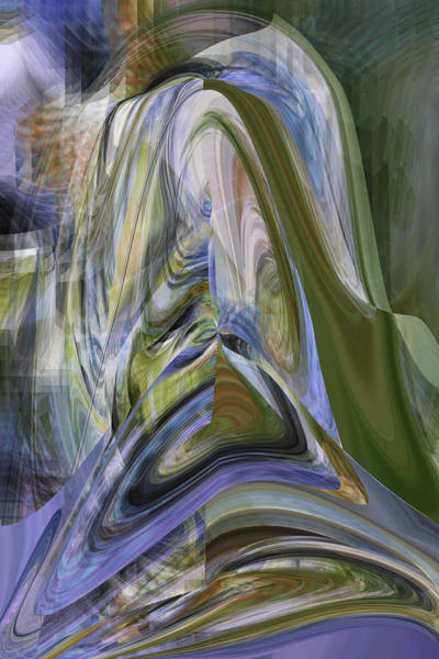 Digital Art - The Shaman's Vision - Digital Abstract by rd Erickson