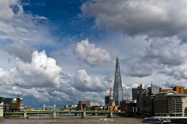 Photograph - The Shard At Southwark by Gary Eason