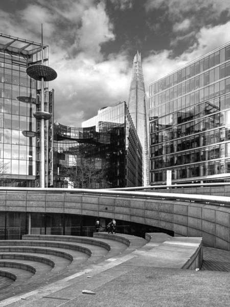 Photograph - The Shard From Potters Field Park London by Gill Billington