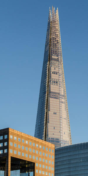 Photograph - The Shard From The River by Gary Eason