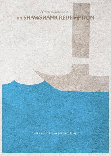 Digital Art - The Shawshank Redemption by Inspirowl Design