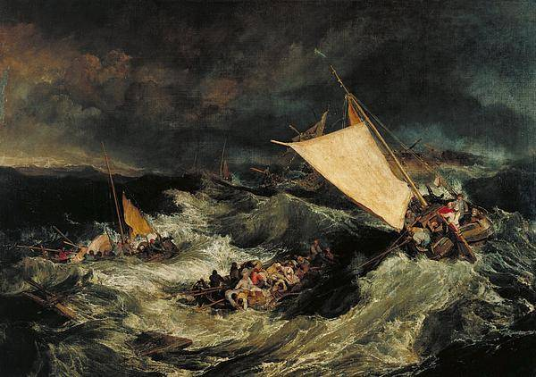 1805 Painting - The Shipwreck by JMW Turner