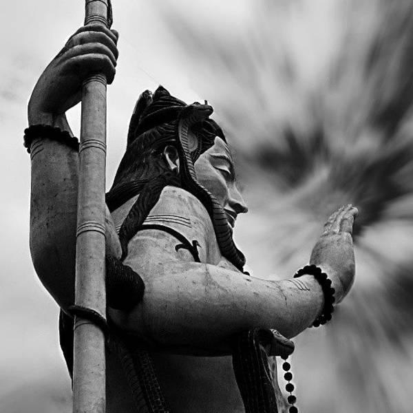 God Wall Art - Photograph - The Shiva. #lord #shiva #god by Dhruv K