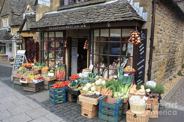 Purple Carrot Photograph - The Shop by Paul Felix