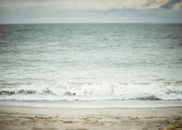 Lisa Russo Wall Art - Photograph - The Shore Beach Landscape Photography In Soft Pastel Blues by Lisa Russo