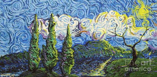 The Shores Of Dreams Art Print