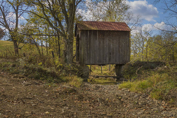 Photograph - The Shortest Covered Bridge I Have Seen by Jack R Perry