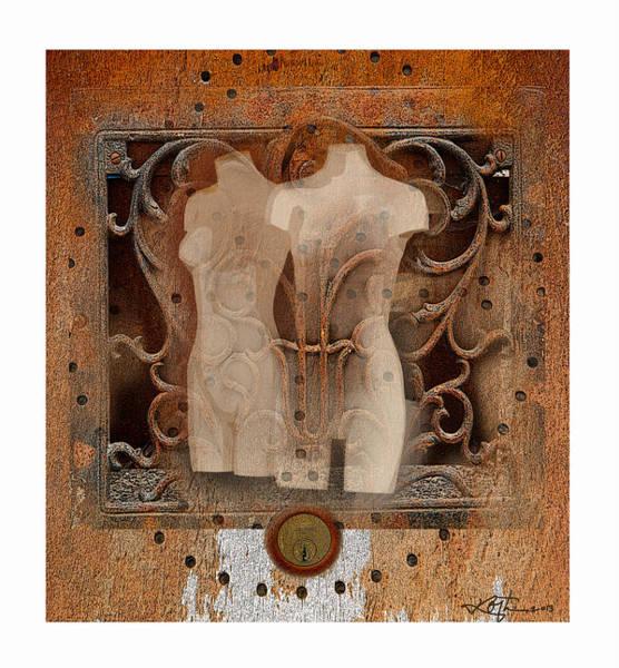 Mannequin Digital Art - The Showroom by Bob Salo