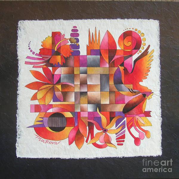 Painting - The Sigidrigi Mat by Maria Rova