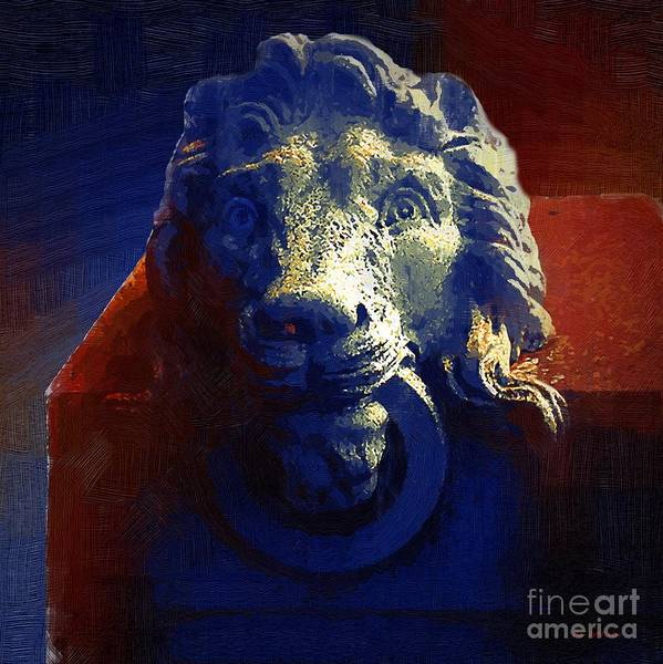 Painting - The Silence Of Stone by RC DeWinter