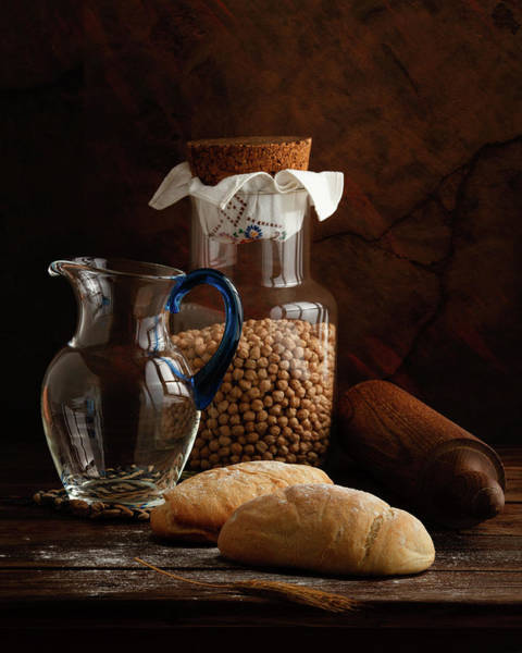 Bread Wall Art - Photograph - The Simple Life - Italian Breads by Luiz Laercio