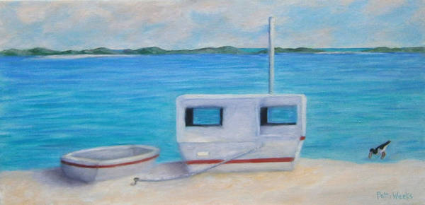 Weeks Bay Painting - The Simple Life by Patty Weeks