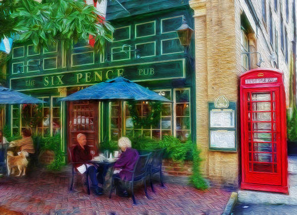 Wall Art - Photograph - The Six Pence Pub by Lee Dos Santos