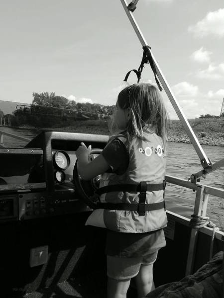 Photograph - The Skipper by Wild Thing