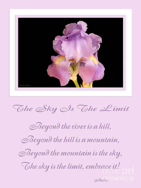 Photograph - The Sky Is The Limit V 10 by Andee Design