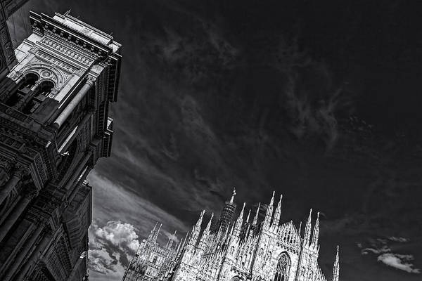 Photograph - The Sky Over Cathedral by Roberto Pagani
