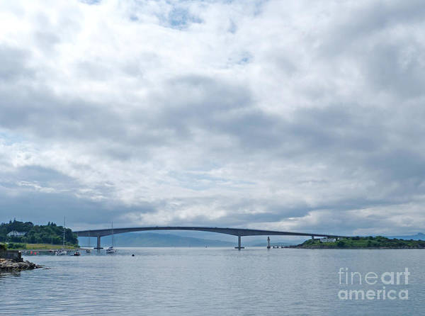 Photograph - The Skye Bridge - Isle Of Skye by Phil Banks