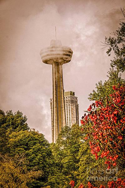 Photograph - The Skylon Tower by Jim Lepard