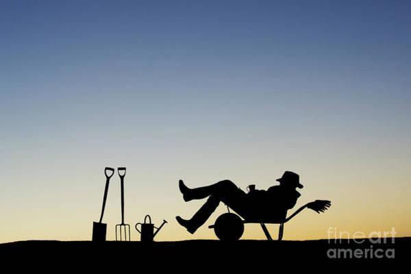 Sleep Photograph - The Sleeping Gardener by Tim Gainey