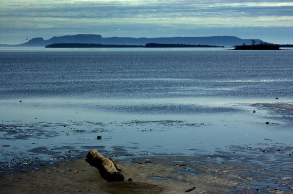 The Sleeping Giant At Low Tide Art Print